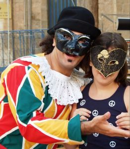 Commedia dell'arte players