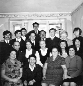 Sabinzer family prior to their 1972 arrival in Israel